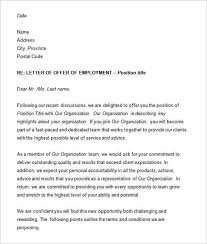 employment offer letter jvwithmenowcomemployment offer letter