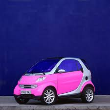 smart car pink cars ben wright
