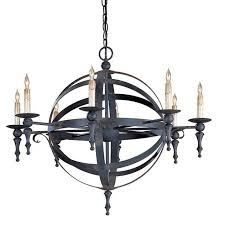 Chandelier Company Currey U0026 Company Armillary Sphere Chandelier Modernist Lighting