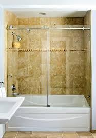 Tub With Shower Doors Shower Doors Custom Glass Shower Doors And Enclosures Bathtub