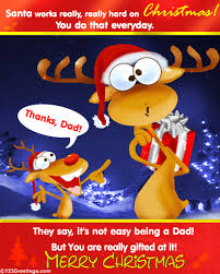 merry christmas dad free family ecards greeting cards 123
