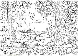 Free Fall Coloring Pages Adult Fall Color Pages Printable Free Fall Coloring Page