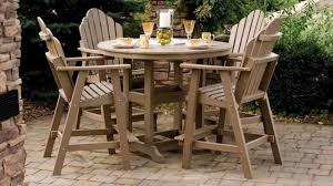 Patio Furniture Made From Recycled Plastic Milk Jugs Terrific Choice For Your Courtyard Is Polywood Outdoor Furniture