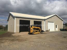 pole barns and garages waterman construction llc