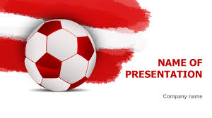 austrian soccer powerpoint template u0026 background for presentation free