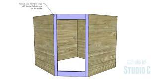 how to make a corner base cabinet diy plans to build a diagonal corner base kitchen cabinet