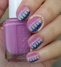the polish playground color blend nail art