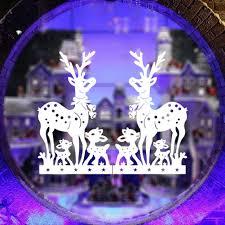 deer wall murals reviews online shopping deer wall murals christmas decoration wall stickers deer decal window murals waterproof 46 5 57cm 0217