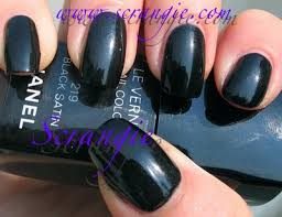 chanel u2013 black satin vs zoya u2013 raven polish dupes pinterest