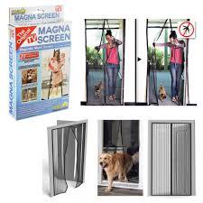 magic mesh garage door door net u0026 hands free magic mesh screen net door with magnets anti