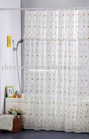 bathroom design eco soft extra long shower liner in