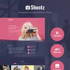 design u0026 photography portfolio wordpress themes templatemonster