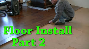 Carpeting Over Laminate Flooring New Floor Install Carpet Removal Laminate Install Part 2 Of 2