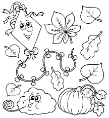 printable fall coloring pages children archives kids autumn free