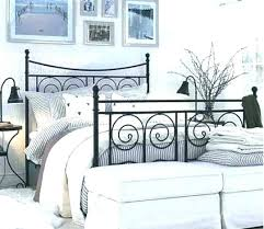 Ikea Metal Bed Frame Ikea Metal Bed Wrought Iron Bed Frame Rod Ikea Metal Bedside Selv Me