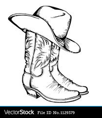 single cowboy boot outline google search boot styles that i