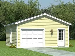 Carport With Storage Plans One Car Garage Plans 1 Car Garage Plan With Storage 006g 0012
