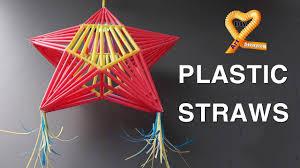 diy ornaments with straws lantern parol made of