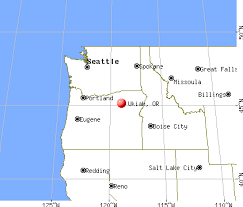 map ukiah ukiah oregon or 97880 profile population maps real estate