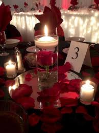 red rose floating candle centerpiece u2013 oosile