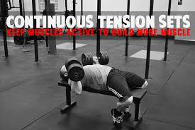 How To Bench More Weight Continous Tension Sets To Build More Muscle Diesel Sc