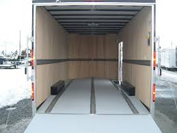 V Nose Enclosed Trailer Cabinets by Carmate 8 X 20 V Nose Enclosed Car Trailer Custom Car Hauler