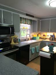 Kitchen Cabinets Chalk Paint by Painted My Very Plain Kitchen Cabinets Easy With Dixie Belle