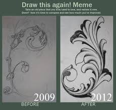 Draw It Again Meme Template - filigree drawing at getdrawings com free for personal use filigree
