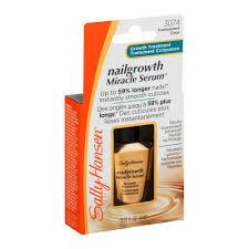 sally hansen nailgrowth miracle serum growth treatment 0 37 fl oz