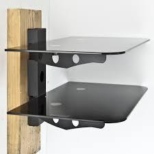 2 tier wall shelf