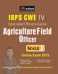 ibps cwe 4 specialist officers cadre agriculture field officer