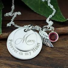 personalized memorial necklace personalized memorial jewelry always on my mind forever in my
