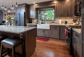 how to stain wood cabinets in kitchen kitchen remodel with cherry wood cabinets viking kitchen