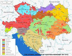 Mongolian Empire Map Austrian Hungarian Empire 1867 U20131918 Ethnic Groups Map 1910