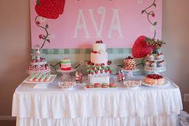 strawberry shortcake birthday party ideas strawberry party is 2 chickabug