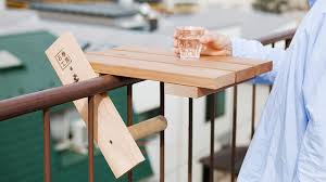 tiny table turns your fire escape into a luxurious patio gizmodo