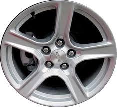 stock camaro rims aly5758 chevrolet camaro wheel silver painted 22998072