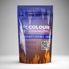 thermochromic smart screen ink changes colour with temperature