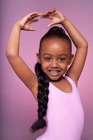 Little Girls Ponytail Hairstyles by Kim Kardashian Ponytail Popular Long Hairstyle Idea