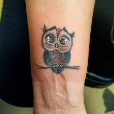 owl wrist tattoos pictures to pin on pinterest tattooskid