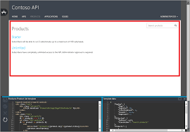 customize your developer portal pages by using azure api