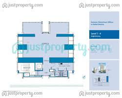 waterfront floor plans extreme waterfront offices floor plans justproperty com
