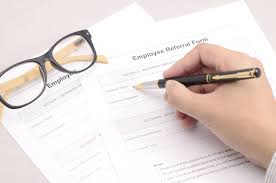 employee referral cover letter sample what are employee referral bonuses