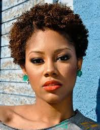 attractive short natural curly hairstyles black women