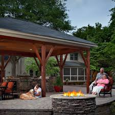 covered cozy and carefully planned archadeck outdoor living