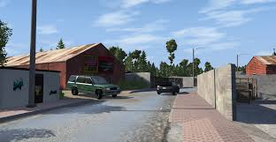 Small Town Alpha Small Town Beamng