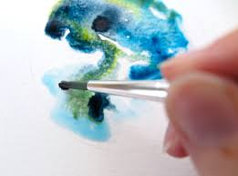 how to paint a galaxy with watercolors tangled pen
