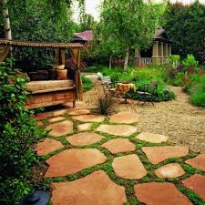 Flagstone Ideas For A Backyard 25 Trending Flagstone Pavers Ideas On Pinterest Front Path