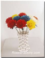 wooden roses woodenrosesfactory high qulity low price wooden roses