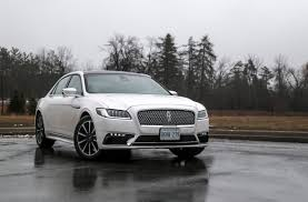 lincoln 2017 review 2017 lincoln continental reserve awd canadian auto review